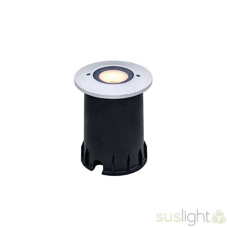 LED bodenspot Sus Small Sun 1.5Watts - 24V + cover