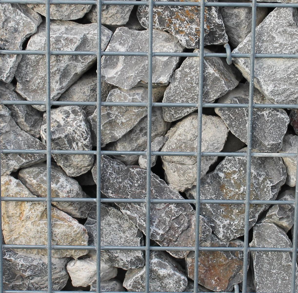 Ardennen Grau 60-100mm Bruchsteine in Gabione
