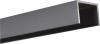 Alu U-Abschluß Profil Steingrau 1,50 Meter lang