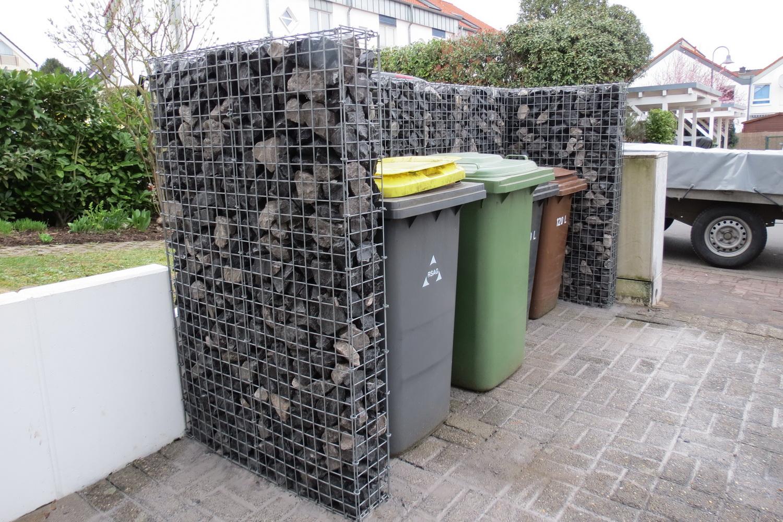 Mülltonnenbox U-Form