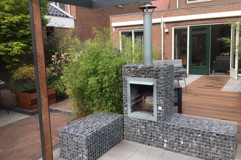 Gartenkamin Grill XS Terrasse