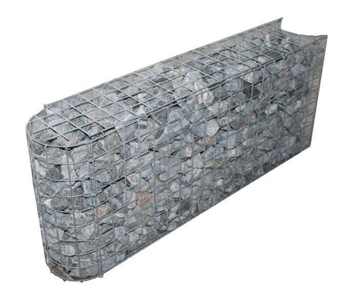Kurven-Steinkorb Tiefe 0,32m