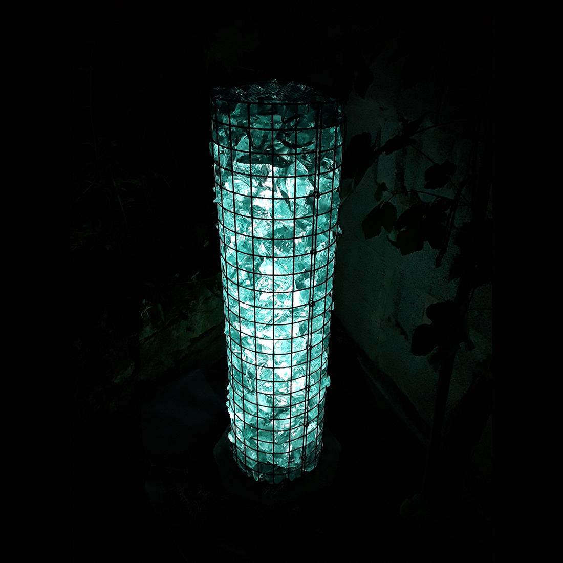 Gabionen lichtsäule Ø 22cm