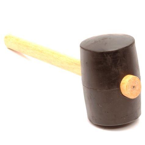 Gummihammer, 1250 Gramm, rund