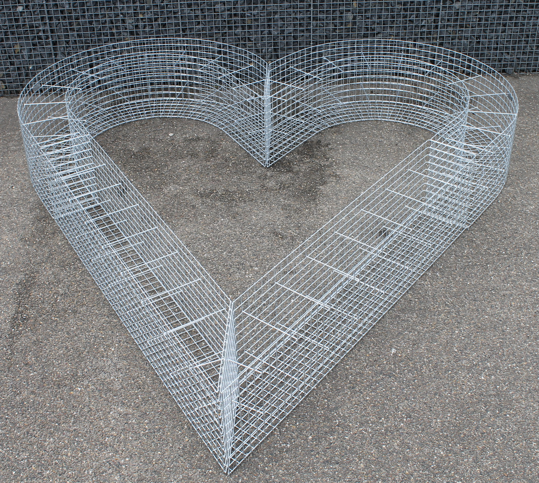 Gabionen Herz