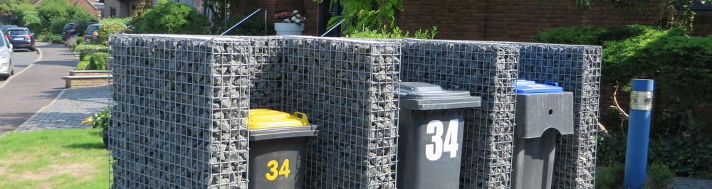 Mülltonnenboxen